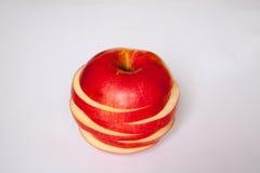 Rżnięty Apple zdjęcie stock