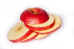 Rżnięty Apple obraz royalty free