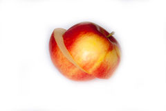 Rżnięty Apple zdjęcie royalty free