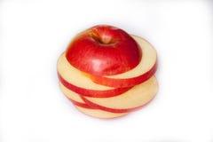 Rżnięty Apple zdjęcia royalty free