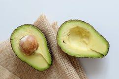 Rżnięty Avocado Fotografia Stock