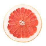 rżnięty grapefruit Zdjęcie Royalty Free