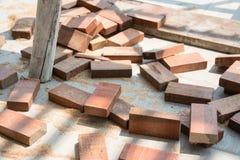 Rżnięty naturalny drewniany lath obraz royalty free