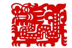 rżnięty papierowy tradycyjny obraz royalty free