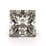 Rżnięty Princess diament Zdjęcie Royalty Free