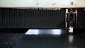 Rżnięty szkotowy metal przy warsztatem klamerka Włókno laserowe maszyny dla metalu tnącego zakończenia Nowożytny narzędzie w prze zbiory