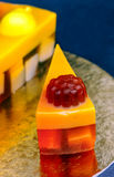 Rżnięty torta mydło Zdjęcie Royalty Free