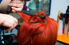 rżnięty włosy obraz stock