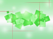 r Αφαίρεση με τους χρωματισμένους κύκλους ελεύθερη απεικόνιση δικαιώματος