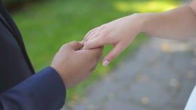 r Ευτυχή καυκάσια χέρια εκμετάλλευσης ζευγών Θολωμένο υπόβαθρο φύσης φιλμ μικρού μήκους