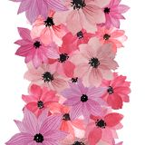 r Λουλούδια Watercolor διανυσματική απεικόνιση