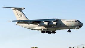 R10-002 Πολεμική Αεροπορία του Πακιστάν, Ilyushin IL-78M Μήδας Στοκ Εικόνα