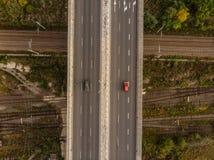 r На дороге стоковое фото rf