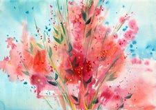 r   Пук красных цветков стоковая фотография rf