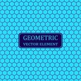 r Решетка шестиугольника геометрии вектора иллюстрация вектора