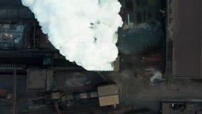 r 产业管子污染与烟的大气,生态污染,工业工厂污染,烟 影视素材