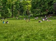 r 2018?6? 在瓦伦蒂诺公园 免版税库存图片