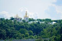 ?? r 基辅Pechersk拉夫拉或洞的基辅修道院 免版税库存图片