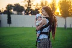r 母性喜悦 图库摄影
