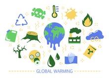 r 气候变化想法  皇族释放例证