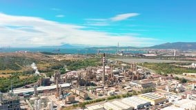 r 炼油厂,石油工业 影视素材