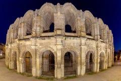 r Arles Παλαιός παλαιός ρωμαϊκός χώρος αμφιθεάτρων στοκ εικόνες