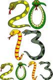 År av ormen Royaltyfri Fotografi
