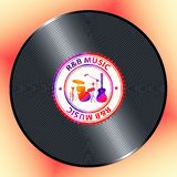 R&B znaczenia Muzyczny rytm I błękit dusza ilustracji
