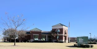 1r banco de la comunidad, Memphis del oeste, Arkansas Foto de archivo