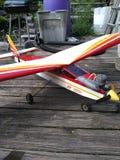 R.c. plane stock image