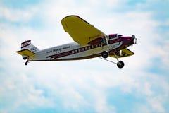 R/C vliegtuig Stock Afbeelding