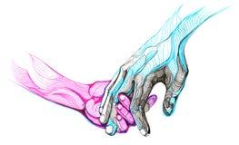 ręce ilustracja wektor