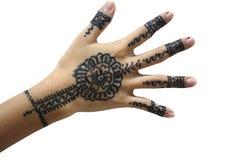 ręce henny Zdjęcia Royalty Free