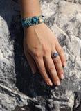 ręce jest kobieta Obrazy Royalty Free