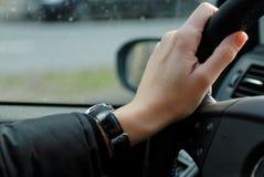 ręce kierownicy Zdjęcie Stock