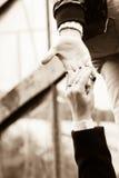 ręce mi Fotografia Royalty Free