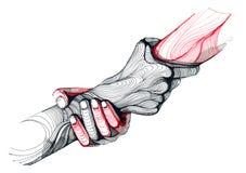 ręce mi ilustracji