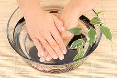 ręce opieki Zdjęcie Royalty Free