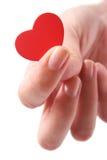 ręce serce Obrazy Royalty Free