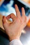 - ręce znak Obrazy Royalty Free