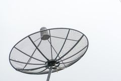 R?cepteur d'antenne parabolique photo libre de droits