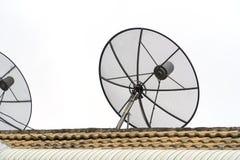 R?cepteur d'antenne parabolique photo stock
