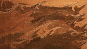 r Chapoteo del agua en el papel Superficie del derramamiento de la tinta stock de ilustración