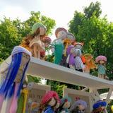 ręczna robota lalki Zdjęcia Royalty Free