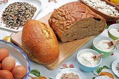 Ręcznie robiony chleb, Chorwacja, 6 Obrazy Royalty Free
