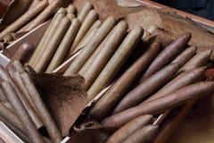 Ręcznie robiony cygar parejos Zdjęcia Stock