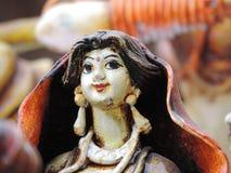 RĘCZNIE ROBIONY lala INDIA obraz royalty free