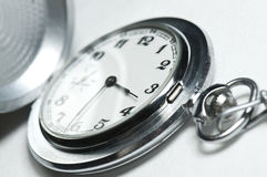 ręcznie robiony stary zegarek Obraz Stock