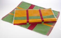 ręcznik, kuchenny ręcznik na tle Obraz Stock