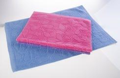 ręcznik, kuchenny ręcznik na tle Zdjęcia Royalty Free